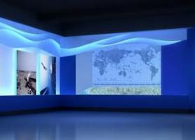 书画展厅设计应展现的艺术美图片