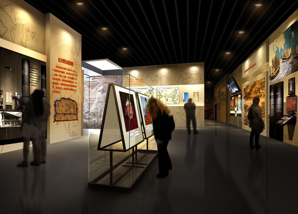 肃北县博物馆设计案例