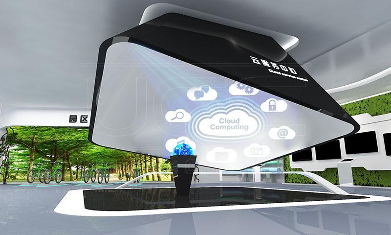 金延安智慧城市展示中心(图2)