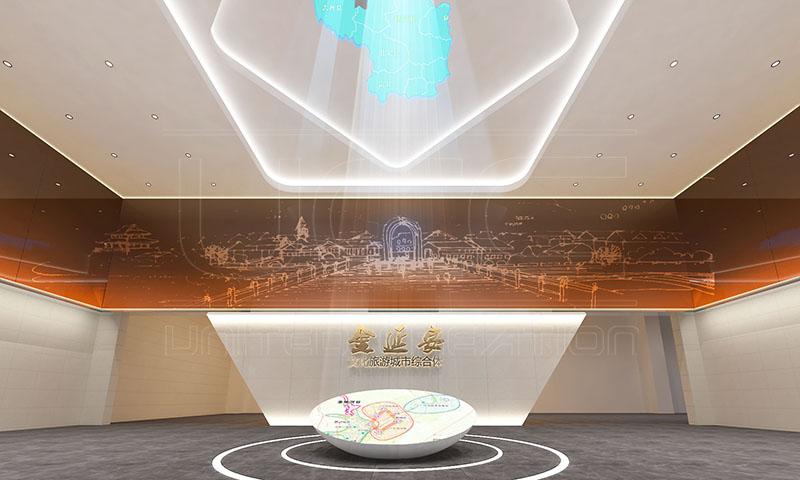 金延安智慧城市展示中心(图1)