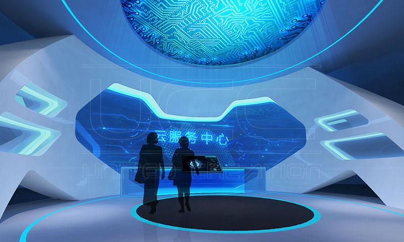金延安智慧城市展示中心(图3)