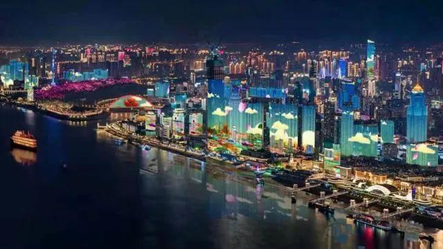 太美了~被武汉樱花主题3D Mapping灯光秀给惊艳到了!(图3)