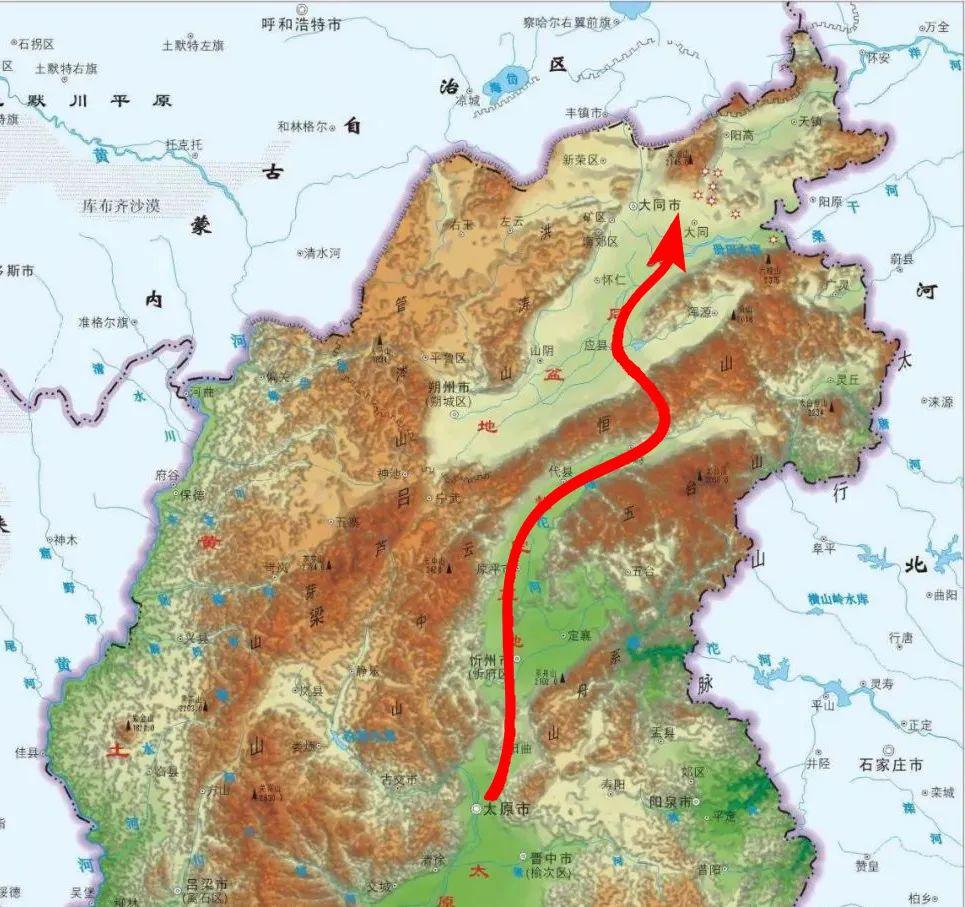 山西春游,从太原到大同,一览稀世之珍的建筑古迹~(图2)